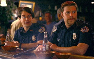 Movie cops drinking